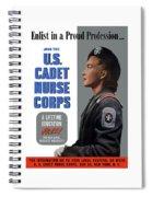 Us Cadet Nurse Corps - Ww2 Spiral Notebook