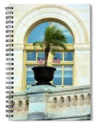 Us Capital Building Window Spiral Notebook