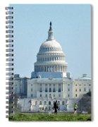 U.s. Capitol Spiral Notebook