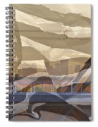 Us City Montage Spiral Notebook