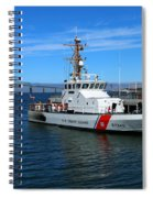 Us Coast Guard On Columbia River Spiral Notebook