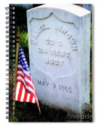 Us Colored Troops Spiral Notebook