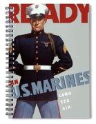 Us Marines - Ready Spiral Notebook