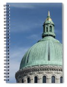 U.s. Naval Academy Chapel Dome Spiral Notebook