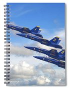 Us Navy - Blue Angels Spiral Notebook