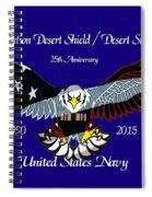 Us Navy Desert Storm Spiral Notebook