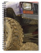 Us Off Road Car Spiral Notebook