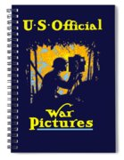 U.s. Official War Pictures Spiral Notebook