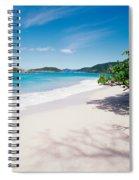 Us Virgin Islands, St. John, Cinnamon Spiral Notebook