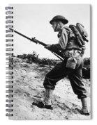 U.s World War II Infantry, 1942 Spiral Notebook