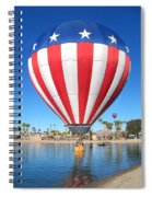 Usa Balloon Spiral Notebook