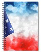 Usa Circles Spiral Notebook