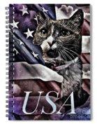 USA Spiral Notebook