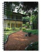 Usa, Florida, Key West, Ernest Spiral Notebook