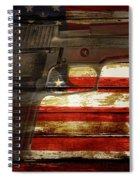 Usa Handgun Spiral Notebook