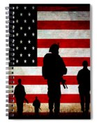 Usa Military Spiral Notebook