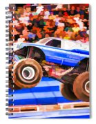 Usaf Afterburner Monster Jam Spiral Notebook