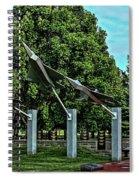 Usaf Museum Memorial Garden Spiral Notebook