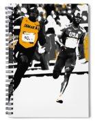 Usain Bolt Bringing It Home Spiral Notebook