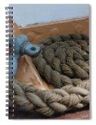 Uscg Line Spiral Notebook