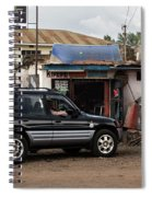 Used Spare Parts Spiral Notebook