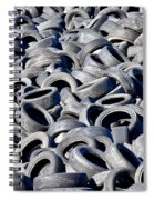 Used Tires Spiral Notebook