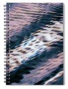 Ushuaia Ar - Ocean Ripples 1 Spiral Notebook