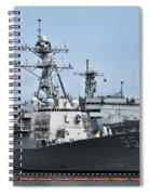 Uss James E. Williams Ddg-95 Spiral Notebook