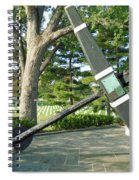 Uss Maine Anchor Spiral Notebook