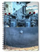 Uss North Carolina, Bb 55, 40mm Guns Spiral Notebook