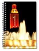 Ut Tower Championship Win Spiral Notebook