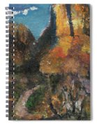 Utah Canyon Spiral Notebook