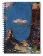 Utah Raw Spiral Notebook