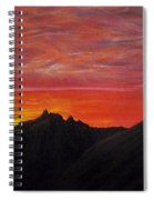 Utah Sunset Spiral Notebook