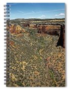 Ute Canyon Panorama Spiral Notebook