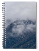 Ute Pass As Storm Clouds And Fog Roll In  Spiral Notebook