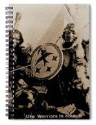 Ute Tribe In Council Spiral Notebook