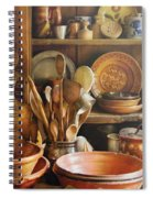 Utensils - Remembering Momma Spiral Notebook