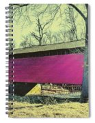Utica Mills Covered Bridge Spiral Notebook