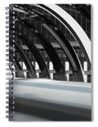 Utopia Station Spiral Notebook