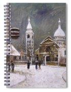 Utrillo: Montmartre, 1931 Spiral Notebook