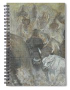 Uttc - Buffalo Mural Left Panel Spiral Notebook