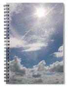 V Cloud Under The Sun  Spiral Notebook