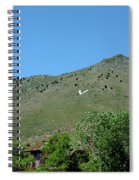 V For Virginia City Nv Mail Drop Spiral Notebook