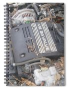V6 24 Valve Spiral Notebook