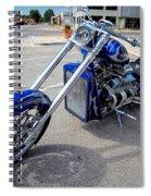 V8 Chopper Spiral Notebook