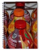V8 Fusion Spiral Notebook