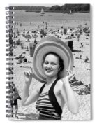 Vacation Montage, C.1930s Spiral Notebook