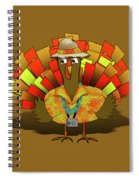 Vacation Turkey Illustration Spiral Notebook