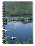 Vacha Dam Spiral Notebook